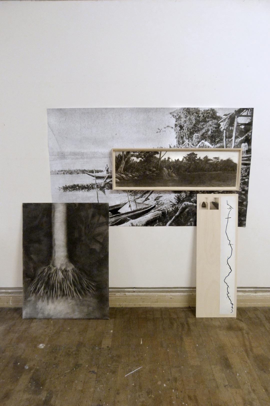 Panneau n°2, installation, 2016.